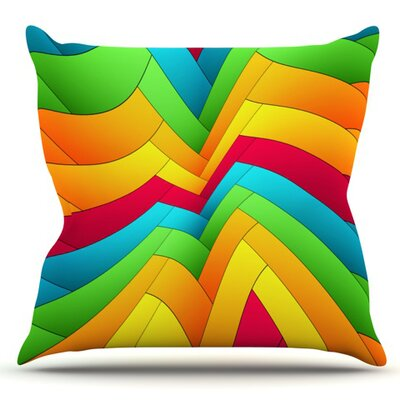 Olympia by Danny Ivan Outdoor Throw Pillow