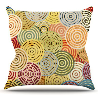 Matias Girl by Danny Ivan Outdoor Throw Pillow