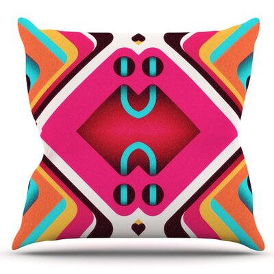 Caviar by Danny Ivan Outdoor Throw Pillow