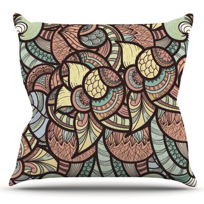 Wild Run by Danny Ivan Outdoor Throw Pillow