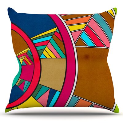 Lov Pattern by Danny Ivan Outdoor Throw Pillow