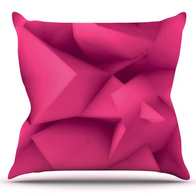 Surface by Danny Ivan Outdoor Throw Pillow