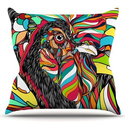 Tropical by Danny Ivan Outdoor Throw Pillow