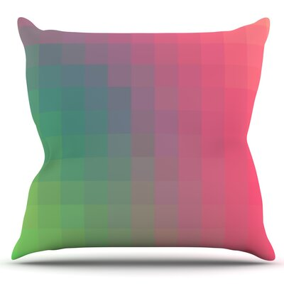 Gradient Print by Danny Ivan Outdoor Throw Pillow