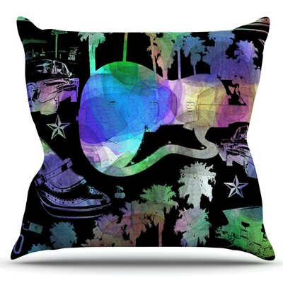 California Dream by Gabriela Fuente Outdoor Throw Pillow