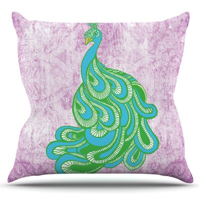 Beauty in Waiting by Geordanna Cordero-Fields Outdoor Throw Pillow