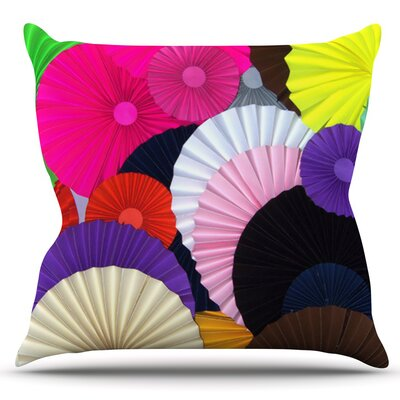 Madness by Heidi Jennings Outdoor Throw Pillow