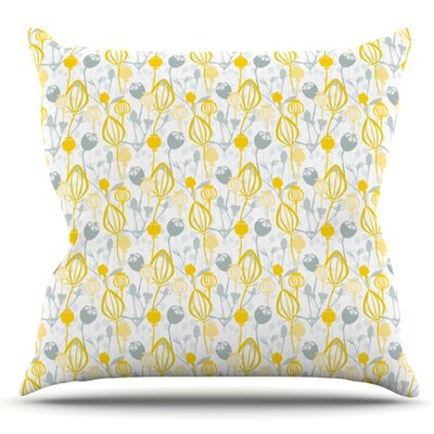 Willow Wisp by Julie Hamilton Outdoor Throw Pillow