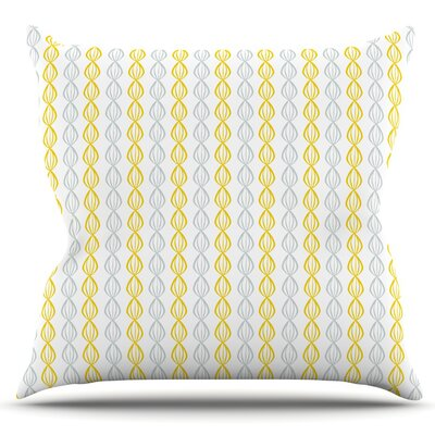 Lemon Pod by Julie Hamilton Outdoor Throw Pillow