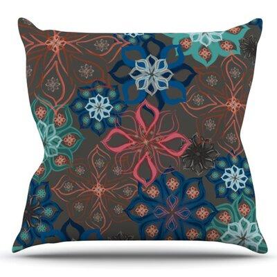Floral Arrangements by Jolene Heckman Outdoor Throw Pillow