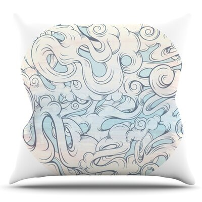 Entangled Souls by Mat Miller Outdoor Throw Pillow