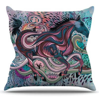 Poetry in Motion by Mat Miller Outdoor Throw Pillow