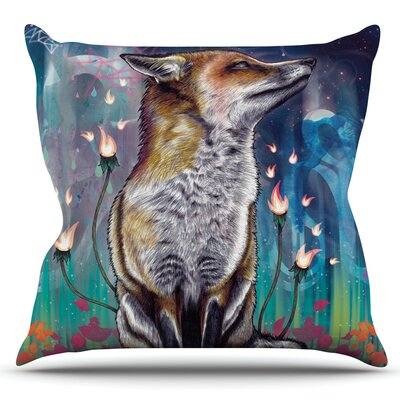 There is a Light by Mat Miller Outdoor Throw Pillow