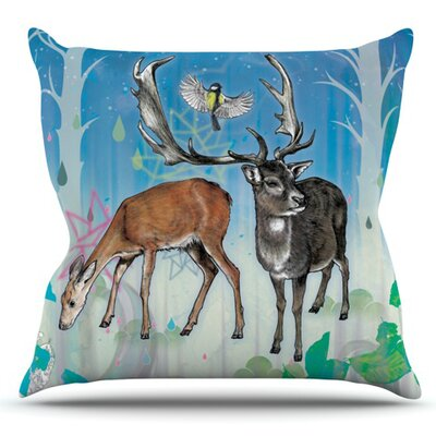 Glade by Mat Miller Outdoor Throw Pillow