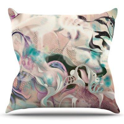 Fluidity by Mat Miller Outdoor Throw Pillow