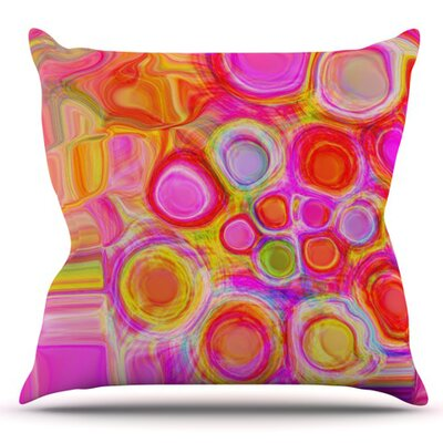 Spring by Nina May Outdoor Throw Pillow