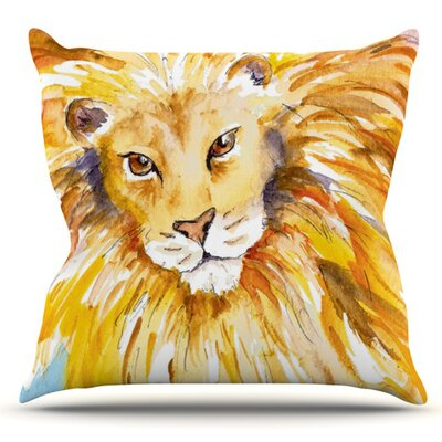 Wild One by Padgett Mason Outdoor Throw Pillow