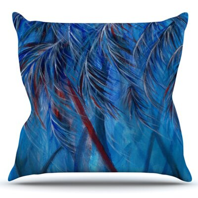 Tropical by Rosie Brown Outdoor Throw Pillow
