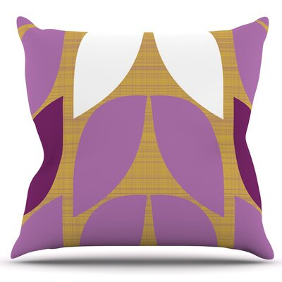 Orchid Petals by Pellerina Design Outdoor Throw Pillow