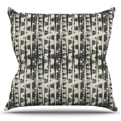 Abstract by Amanda Lane Outdoor Throw Pillow
