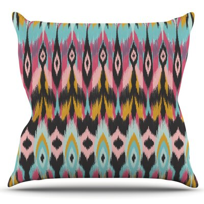 Bohotribal by Amanda Lane Outdoor Throw Pillow