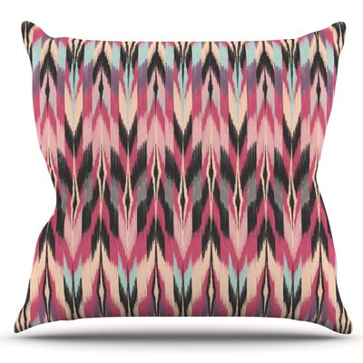 Dreamhaze Tribal by Amanda Lane Outdoor Throw Pillow