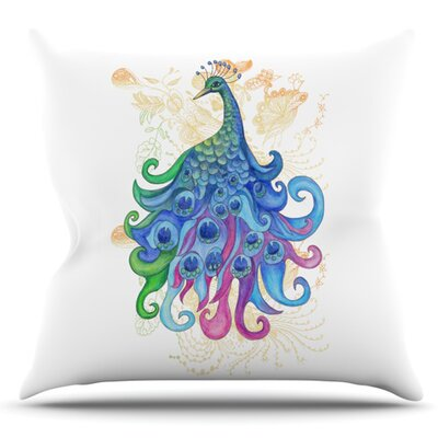 Peace by Catherine Holcombe Outdoor Throw Pillow