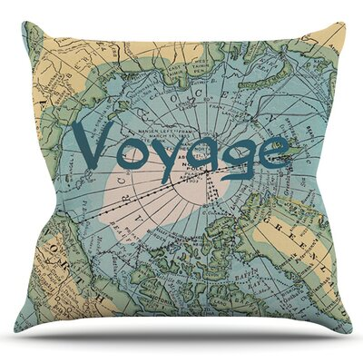 Voyage by Catherine Holcombe Outdoor Throw Pillow