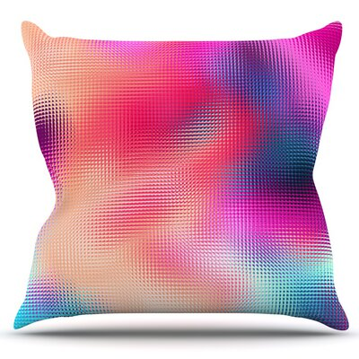 Abstract by Danny Ivan Outdoor Throw Pillow