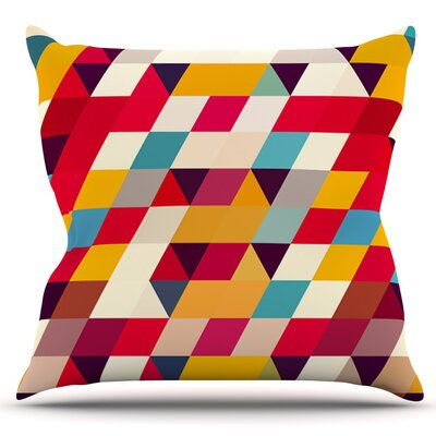 Kyoto by Danny Ivan Outdoor Throw Pillow