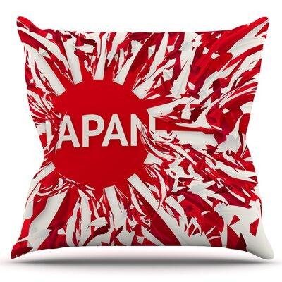 Japan by Danny Ivan Outdoor Throw Pillow