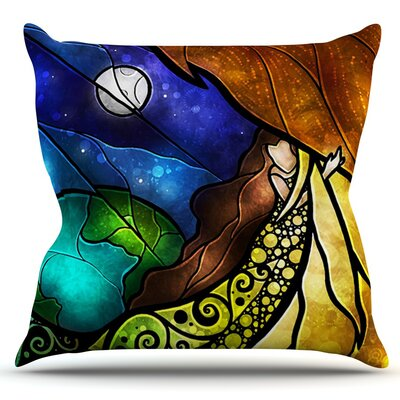 Psalms by Mandie Manzano Outdoor Throw Pillow