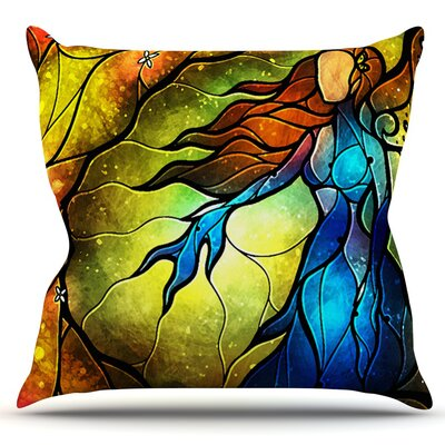Wishing You Were by Mandie Manzano Outdoor Throw Pillow