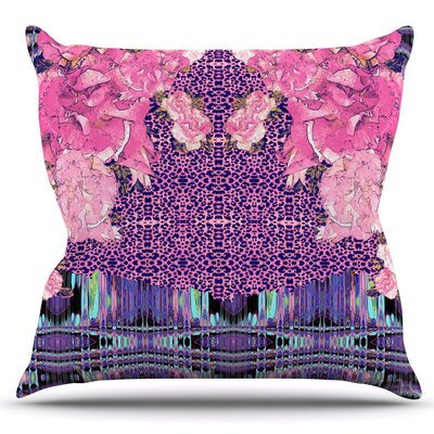 Lepparo by Nina May Outdoor Throw Pillow