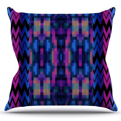 Skya by Nina May Outdoor Throw Pillow