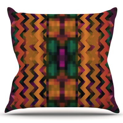 Harvesta by Nina May Outdoor Throw Pillow