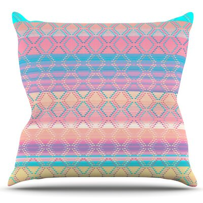 Denin and Diam New Mexico by Nina May Outdoor Throw Pillow