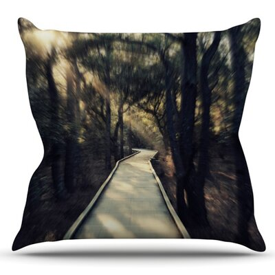 Dream Worthy by Robin Dickinson Outdoor Throw Pillow