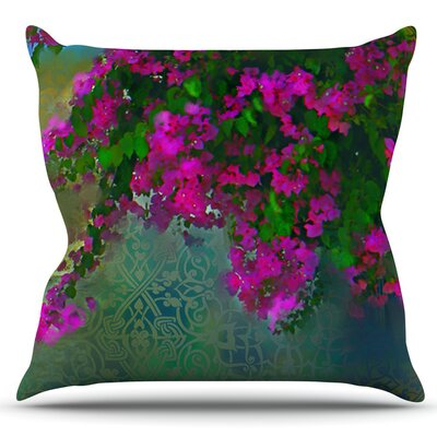 Khushbu by S. Seema Z Outdoor Throw Pillow