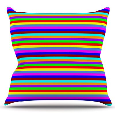 Bombon by Trebam Outdoor Throw Pillow