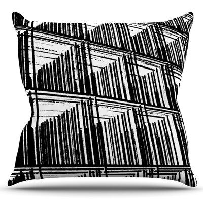 Celik by Trebam Outdoor Throw Pillow