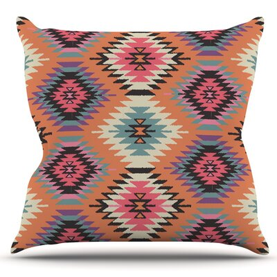 Southwestern Dreams by Amanda Lane Outdoor Throw Pillow