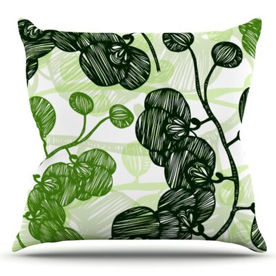 Hikae by Anchobee Outdoor Throw Pillow