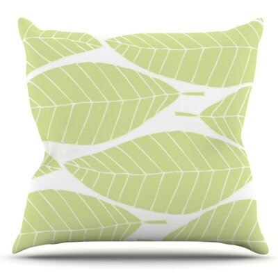 Hojitas by Anchobee Outdoor Throw Pillow