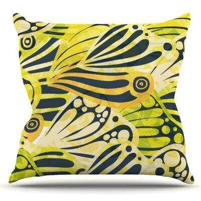 Papalote by Anchobee Outdoor Throw Pillow