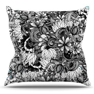Blumen by Anchobee Outdoor Throw Pillow
