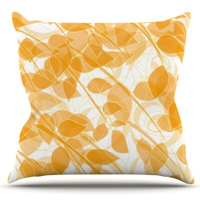 Summer by Anchobee Outdoor Throw Pillow