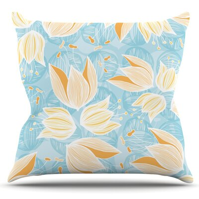 Giallo by Anchobee Outdoor Throw Pillow