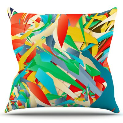 Soccer Slide by Danny Ivan Outdoor Throw Pillow