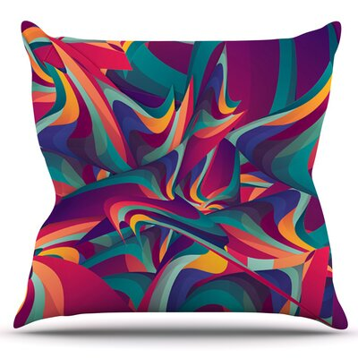 Wrong Past by Danny Ivan Outdoor Throw Pillow